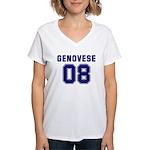 Genovese 08 Women's V-Neck T-Shirt