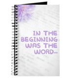 Cute In the beginning was the word Journal