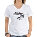 Shark Women's V-Neck T-Shirt