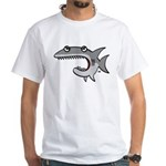 Shark White T-Shirt