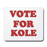 Vote for KOLE Mousepad