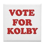 Vote for KOLBY Tile Coaster