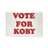 Vote for KOBY Rectangle Magnet (10 pack)