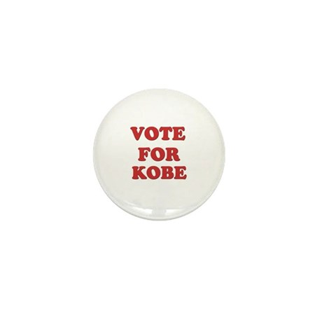 Vote for KOBE Mini Button (10 pack)