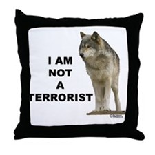 Unique Wolves Throw Pillow