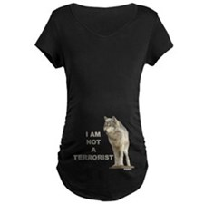 """NOT A TERRORIST"" Wolf Appare T-Shirt"