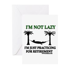 I Am Not Lazy Greeting Cards (Pk of 20)