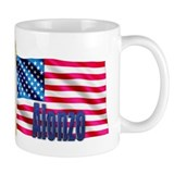 Alonzo Personalized USA Flag Small Mug