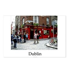 Cute Irish bar Postcards (Package of 8)