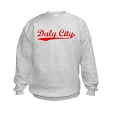 Vintage Daly City (Red) Sweatshirt