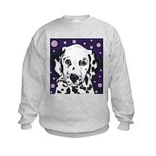 Dalmatian Pup with Spots Sweatshirt