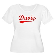 Vintage Davie (Red) T-Shirt