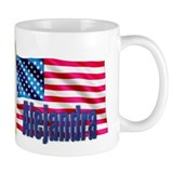 Alejandra Personalized USA Flag Mug