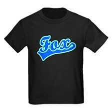 Retro Fox (Blue) T
