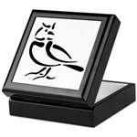 Stylized Lark Keepsake Box