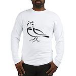 Stylized Lark Long Sleeve T-Shirt