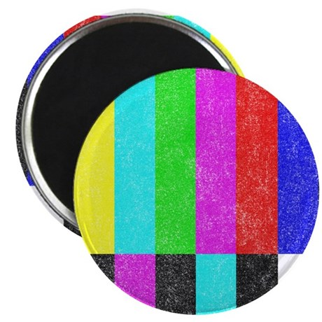Off Air TV Bars Magnet