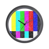 Off Air TV Bars Wall Clock