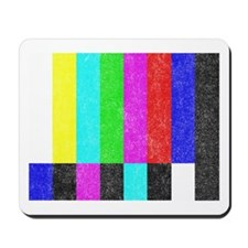 Off Air TV Bars Mousepad