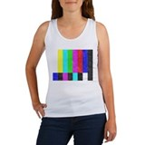 Off Air TV Bars Women's Tank Top