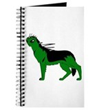 Green Dog-like Chupacabra Journal