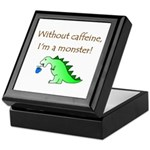 CAFFEINE MONSTER Keepsake Box