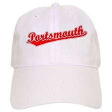 Retro Portsmouth (Red) Baseball Cap