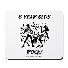 8 Year Olds Rock Mousepad