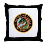 Philly Anti Gang PD Throw Pillow