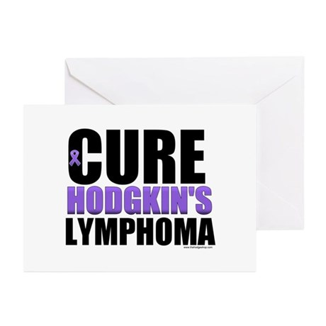 Cure Hodgkin's Lymphoma Greeting Cards (Pk of 10)