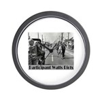 Watts Riots Wall Clock