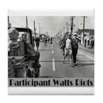 Watts Riots Tile Coaster