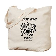 11 Year Olds Rock Tote Bag