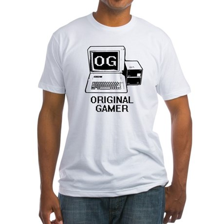 Original Gamer Fitted T-Shirt