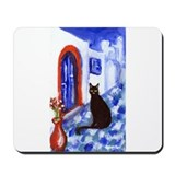 BLACK CAT Santorini 2 Mousepad