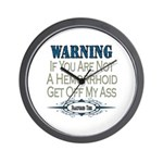 Hemorrhoid Wall Clock