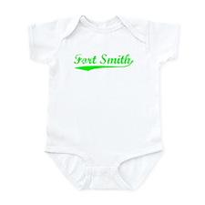 Vintage Fort Smith (Green) Infant Bodysuit