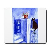 BLACK CAT Santorini Design 3 Mousepad