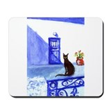 BLACK CAT Santorini 5 Mousepad