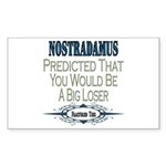 Nostradamus Rectangle Sticker