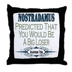 Nostradamus Throw Pillow