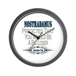 Nostradamus Wall Clock