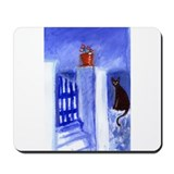 BLACK CAT Santorini 8 Mousepad