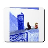 BLACK CAT santorini 9 Mousepad