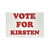 Vote for KIRSTEN Rectangle Magnet (10 pack)