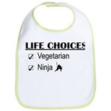 Vegetarian Life Choices Bib