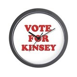 Vote for KINSEY Wall Clock