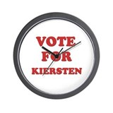 Vote for KIERSTEN Wall Clock
