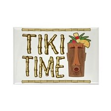 Tiki Time - Rectangle Magnet (10 pack)