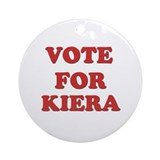 Vote for KIERA Ornament (Round)